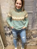 SWEATER KAILEY MISSONI TURQUOISE_