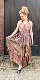 Bohemian Dress Brown_