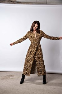 JURK DANI ANIMAL PRINT YELLOW