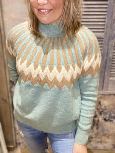 SWEATER KAILEY MISSONI TURQUOISE