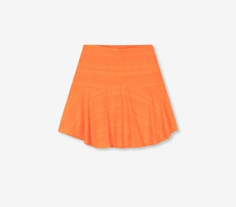 ALIX THE LABEL ROK WOVEN TANGERINE