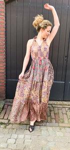 Bohemian Dress Brown